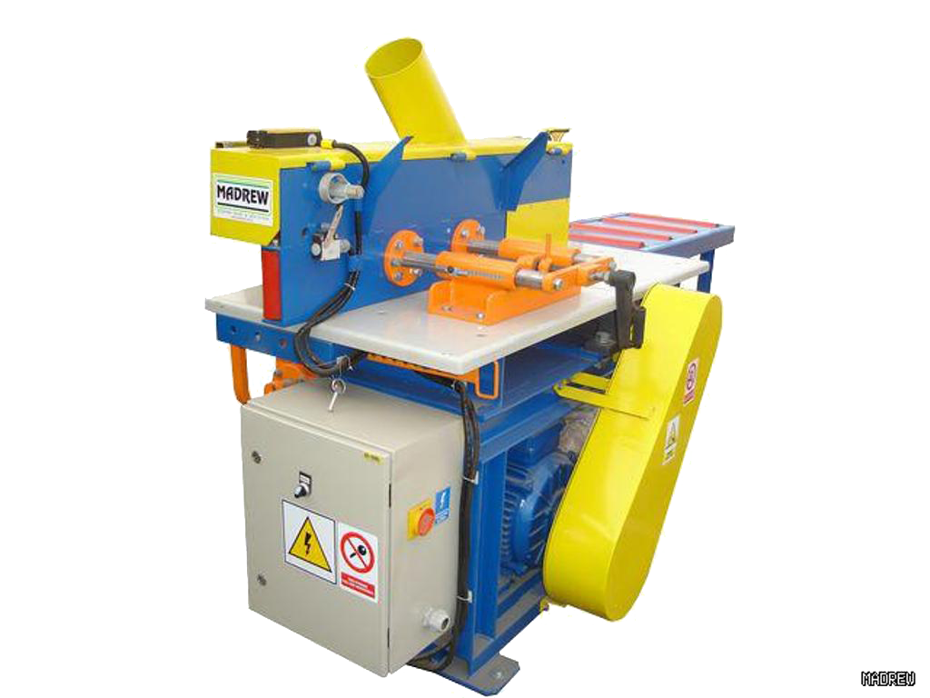 Оборудование MADREW для переработки горбыля